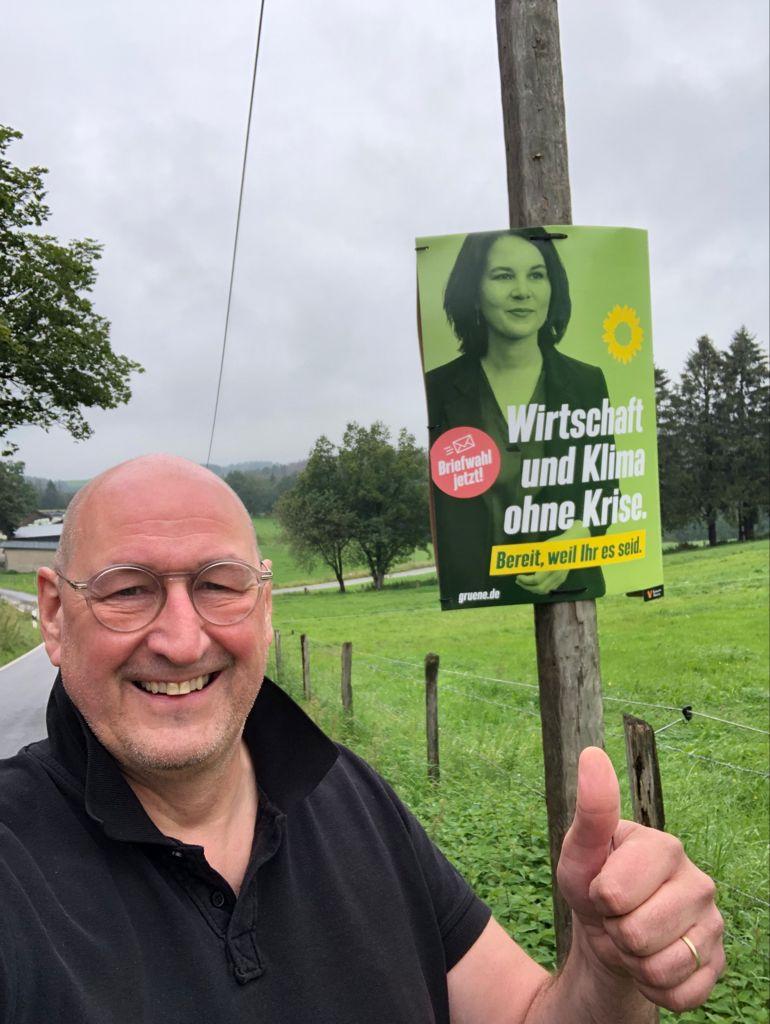 Unterstützung im Wahlkampf!